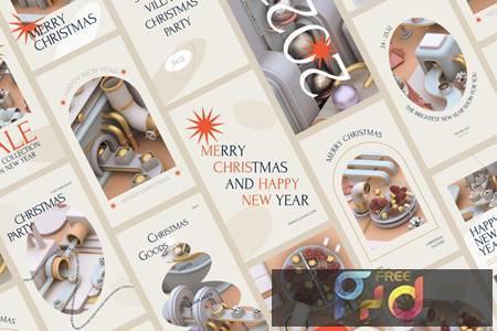 Christmas Social Media Pack 9MFVNCH 1