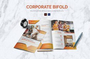 Corporate Bifold Brochure QEXS4HU 4