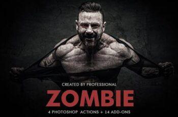 Zombie Photoshop Actions 5542513 2