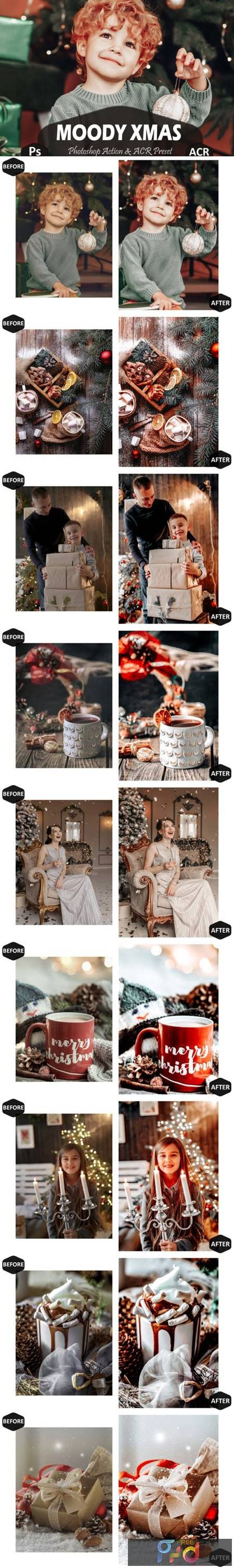 10 Moody Xmas Photoshop Actions and ACR 7099973 1
