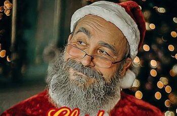 Christmas Cartoon - Photoshop Action 29704313 5