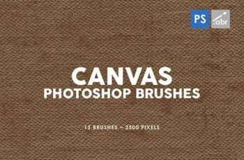 15 Canvas Photoshop Stamp Brushes 29575373 5