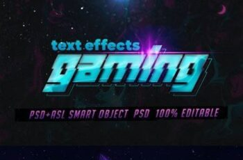 Gaming Text Effects - Psd & Layer Styles 29727123 6