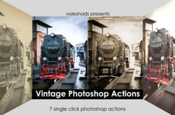 Vintage Look Photoshop Actions Pack 5721333 6