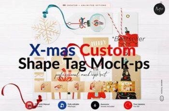 Xmas ALL Shape Tag Creator Mock-ups 5644586 3