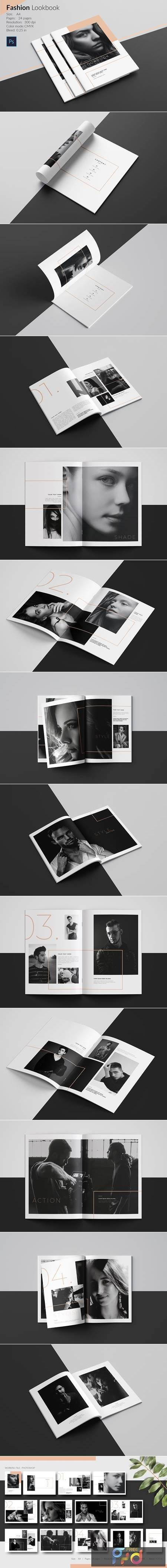 Fashion Lookbook Template 4987950 1