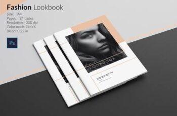 Fashion Lookbook Template 4987950 5