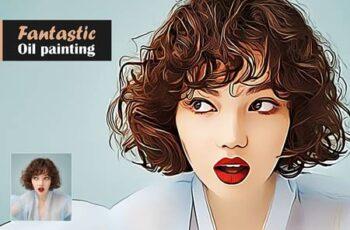Fantastic Oil Painting 5567355 10