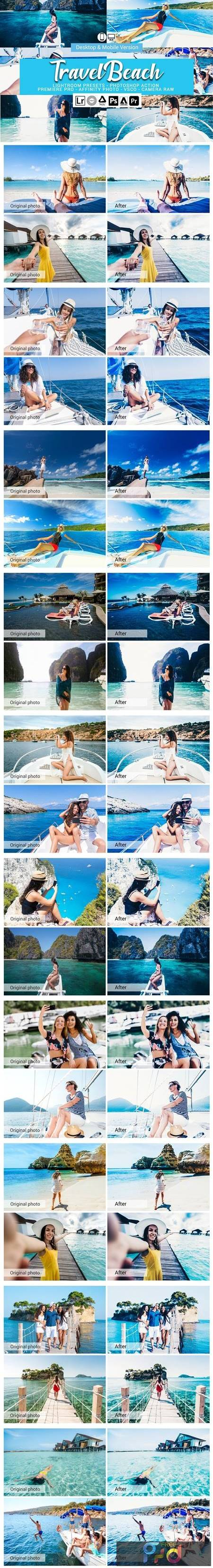 Travel Beach Lightroom Presets 5157497 1