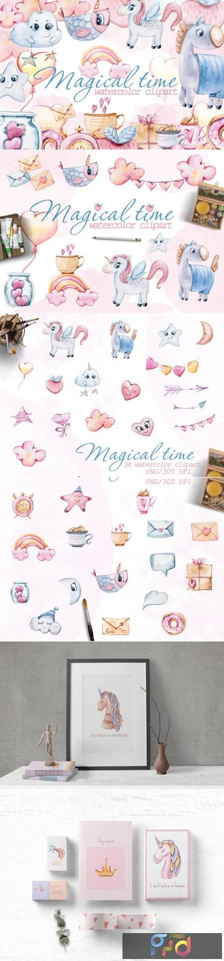 Watercolor Nursery Valentine Clipart 6975245 1