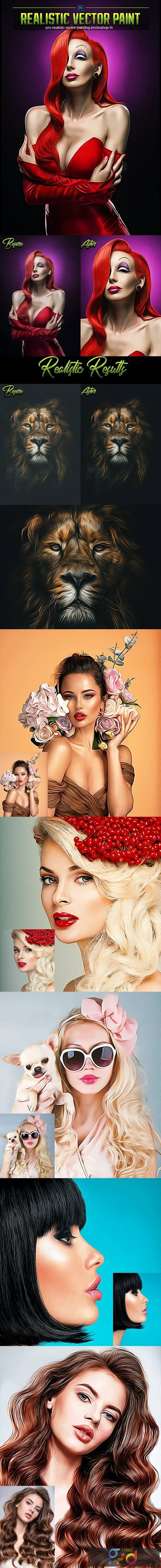 Ultra Vector Paint Photoshop Action 29390310 1