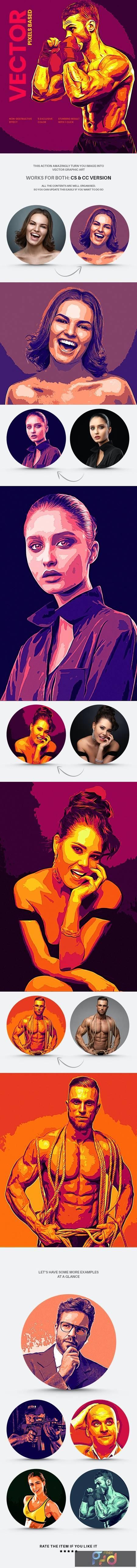 Vector Graphics Art Action 29430033 1