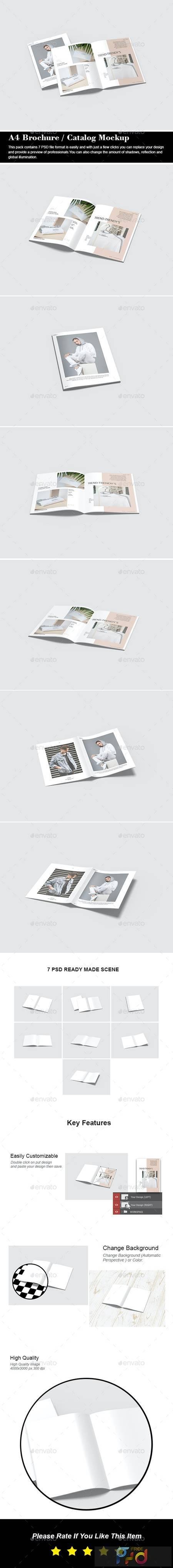 A4 Brochure - Catalog Mockup - 29429258 1