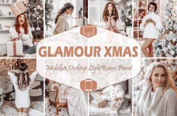 10 Glamour Xmas Mobile Lightroom Presets 7099082 7