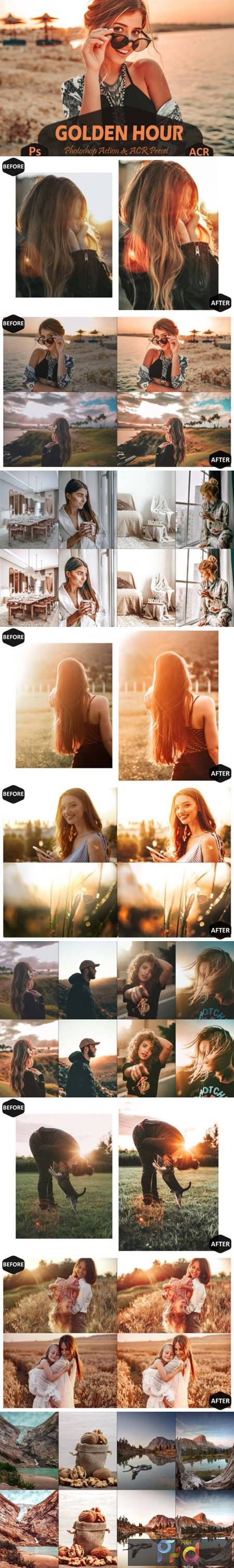 10 Golden Hour Photoshop Actions and ACR 7099653 1