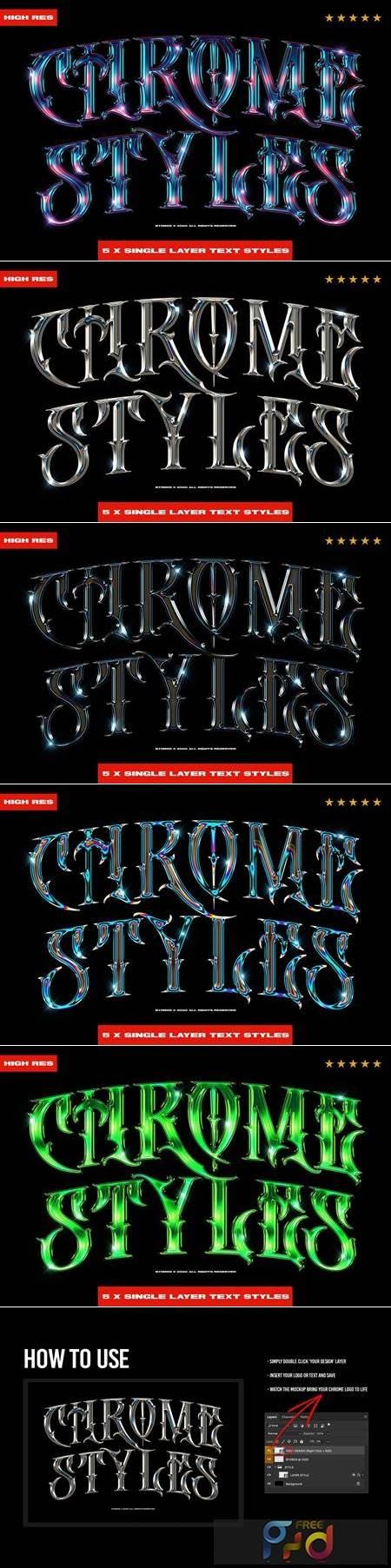 Chrome Text Styles 3.0 5703914 1