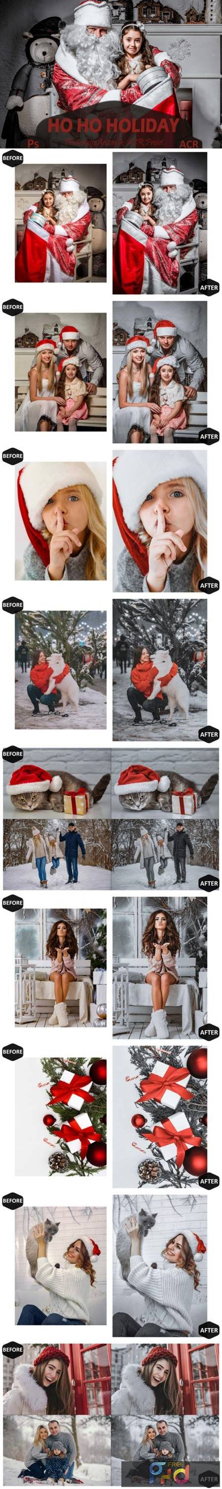 10 Ho Ho Holiday Photoshop Actions 7099826 1