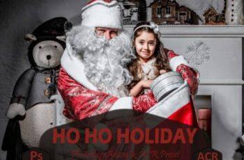 10 Ho Ho Holiday Photoshop Actions 7099826 16