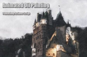 Animated Oil Painting Photoshop Add-on 29438923 6