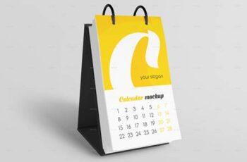 Desk Calendar v06 Mockup Set - 29377620 8