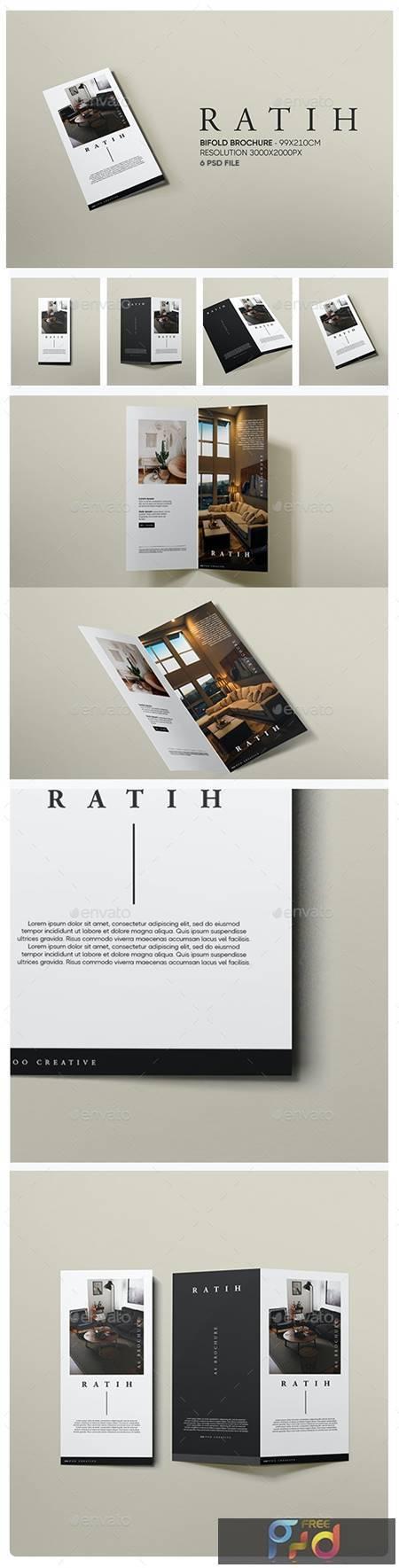 Ratih - DL Bifold Brochure Mockup - 29384754 1