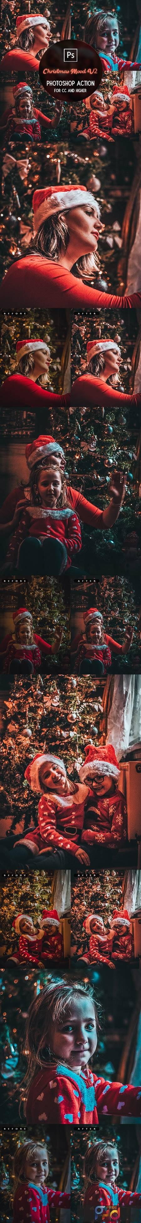 Christmas Mood V2 - Photoshop Action 29732703 1