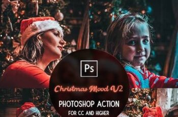 Christmas Mood V2 - Photoshop Action 29732703 2