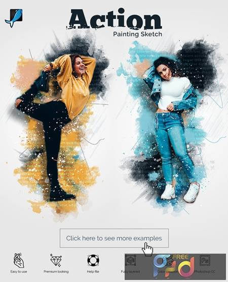 Painting Sketch Photoshop Action 29477559 1