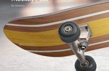 Skateboard Mockups Set - 29449103 11