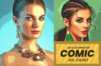 Premium Comic Book Painting 5527071 2