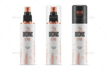 Spray Bottle MockUp - 29417382 4