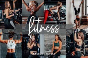 Fitness Lightroom Mobile Presets 5014174 3