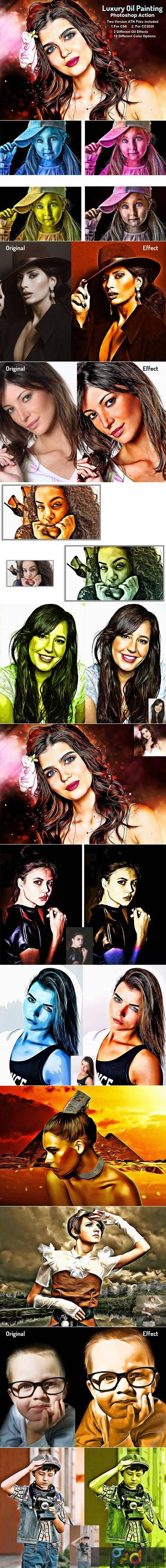 Luxury Oil Painting Photoshop Action 5704092 1