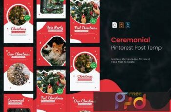 Christmas Ceremonial - Pinterest Post Template DN5ZEDK 4