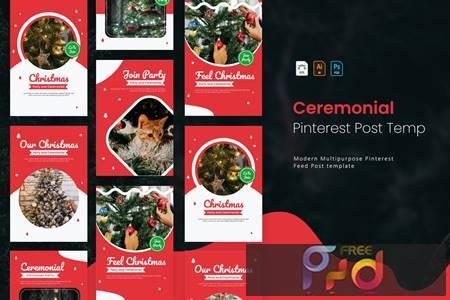 Christmas Ceremonial - Pinterest Post Template DN5ZEDK 1