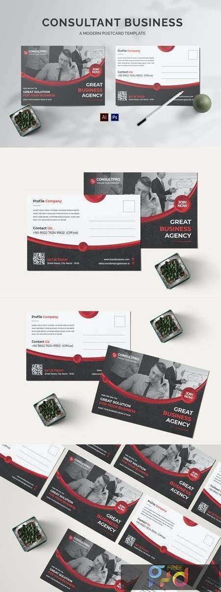 Consultant Business Postcard 97RFUDG 1
