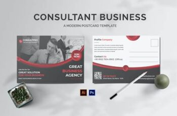 Consultant Business Postcard 97RFUDG 3