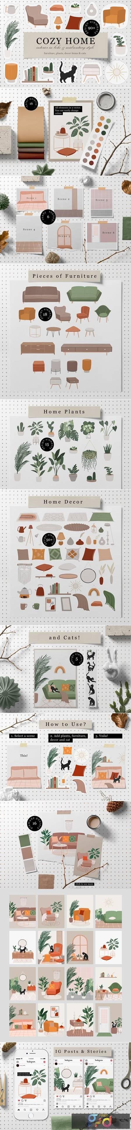 Cozy Home Decor Collection 5550251 1