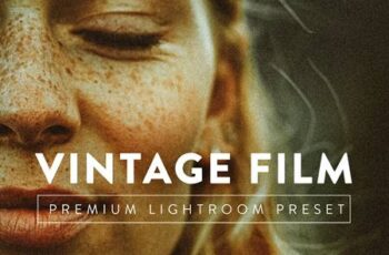 VINTAGE FILM Pro Lightroom Preset 5059743 4