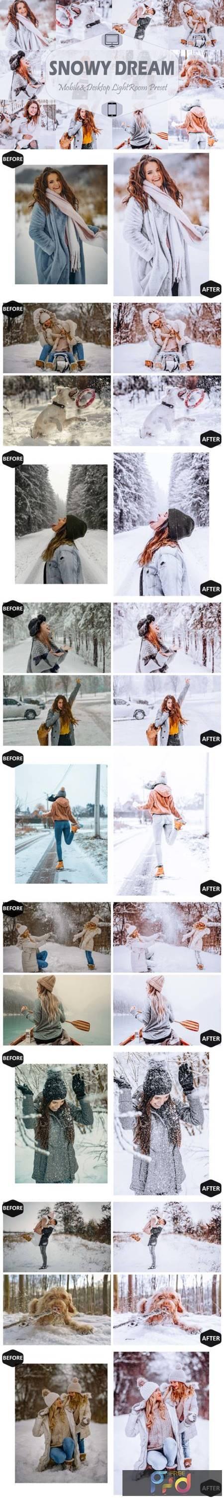 10 Snowy Dream Mobile & Desktop Lightroom 7099219 1