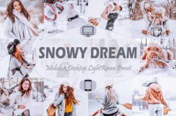 10 Snowy Dream Mobile & Desktop Lightroom 7099219 14