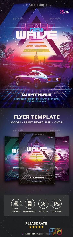 New Retrowave Flyer 29623060 1