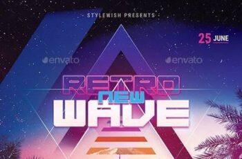 New Retrowave Flyer 29623060 8