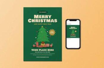 Merry Christmas Flyer Set HU8SMWC 5