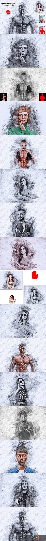 Premium Sketch Photoshop Action 5571177 1