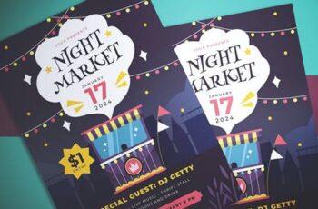 Night Market Flyer LCSBC7J 4