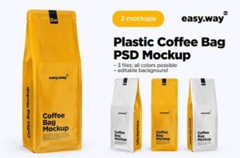 Coffee Bags PSD Mockups 5634584 5
