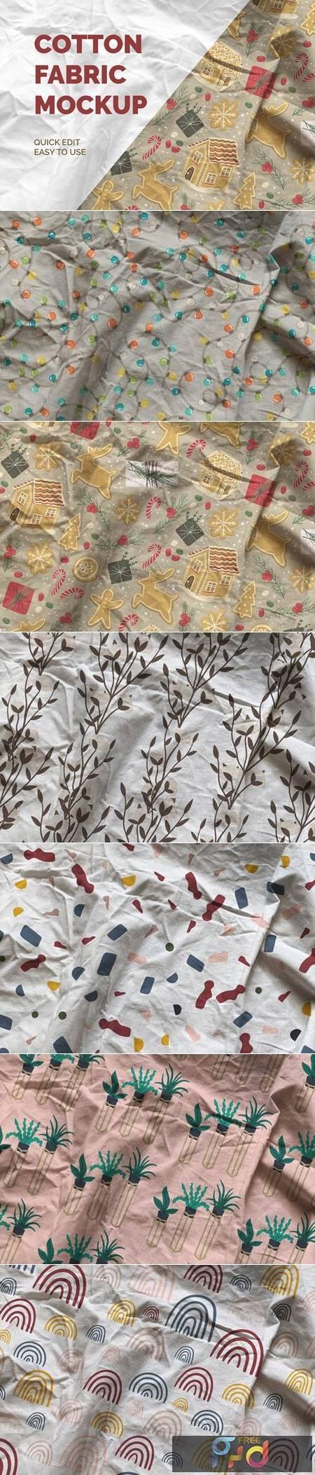 Cotton Fabric Mockup 5632631 1