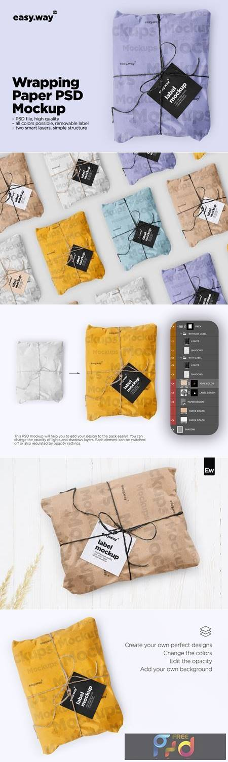 Wrapping Paper Psd Mockup 5635152 1