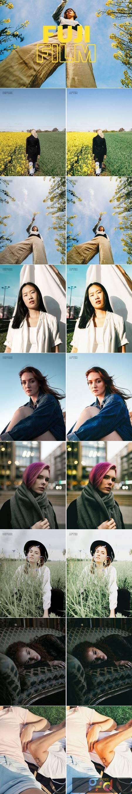 Fujifilm Lightroom Presets XMP-DNG 5736631 1